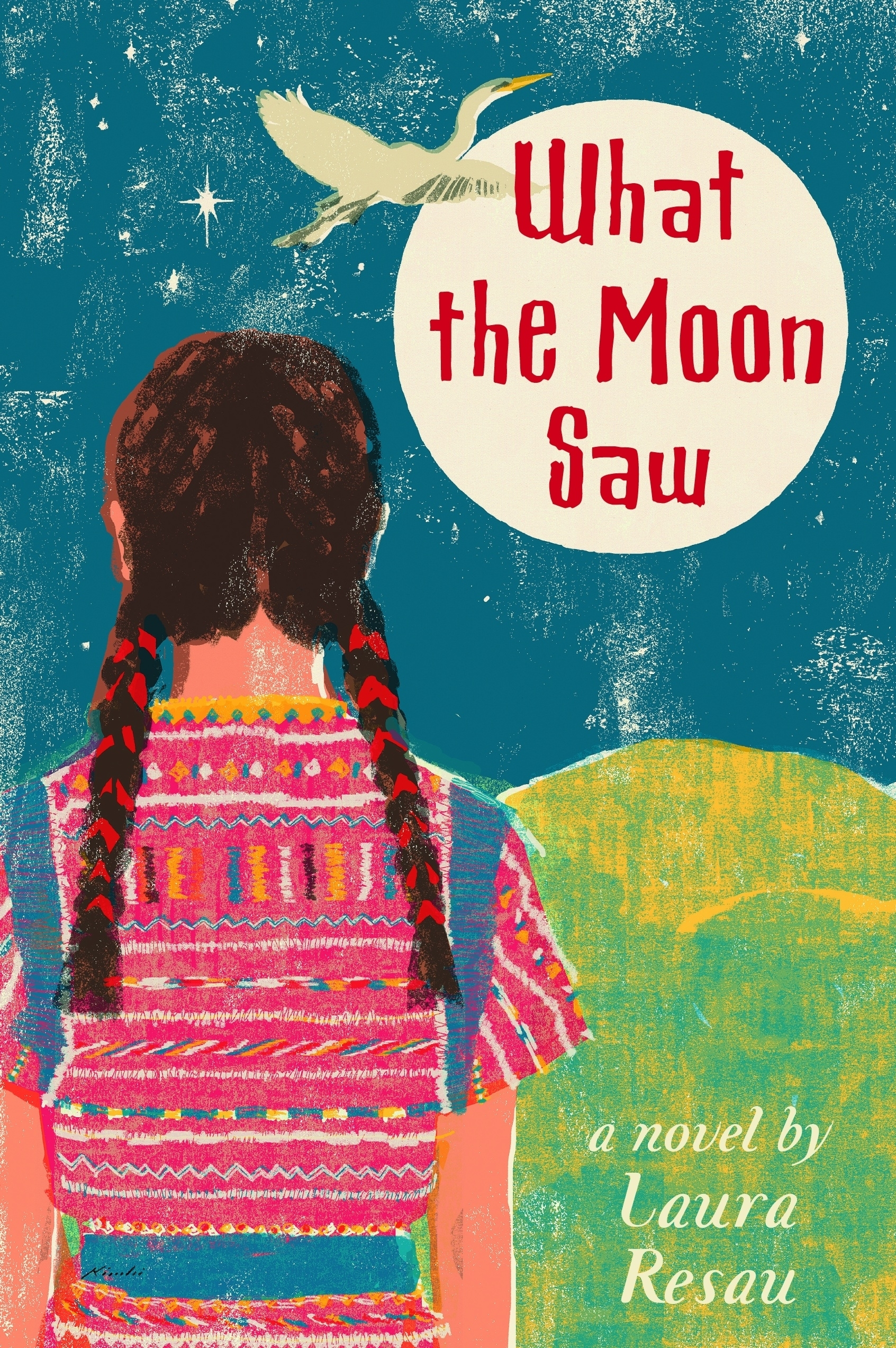 What The Heck Am I Doing The First Month Blogging: Book Review: What The Moon Saw