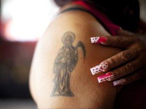 Santa Muerte - Image from NPR Borderland: Dispatches