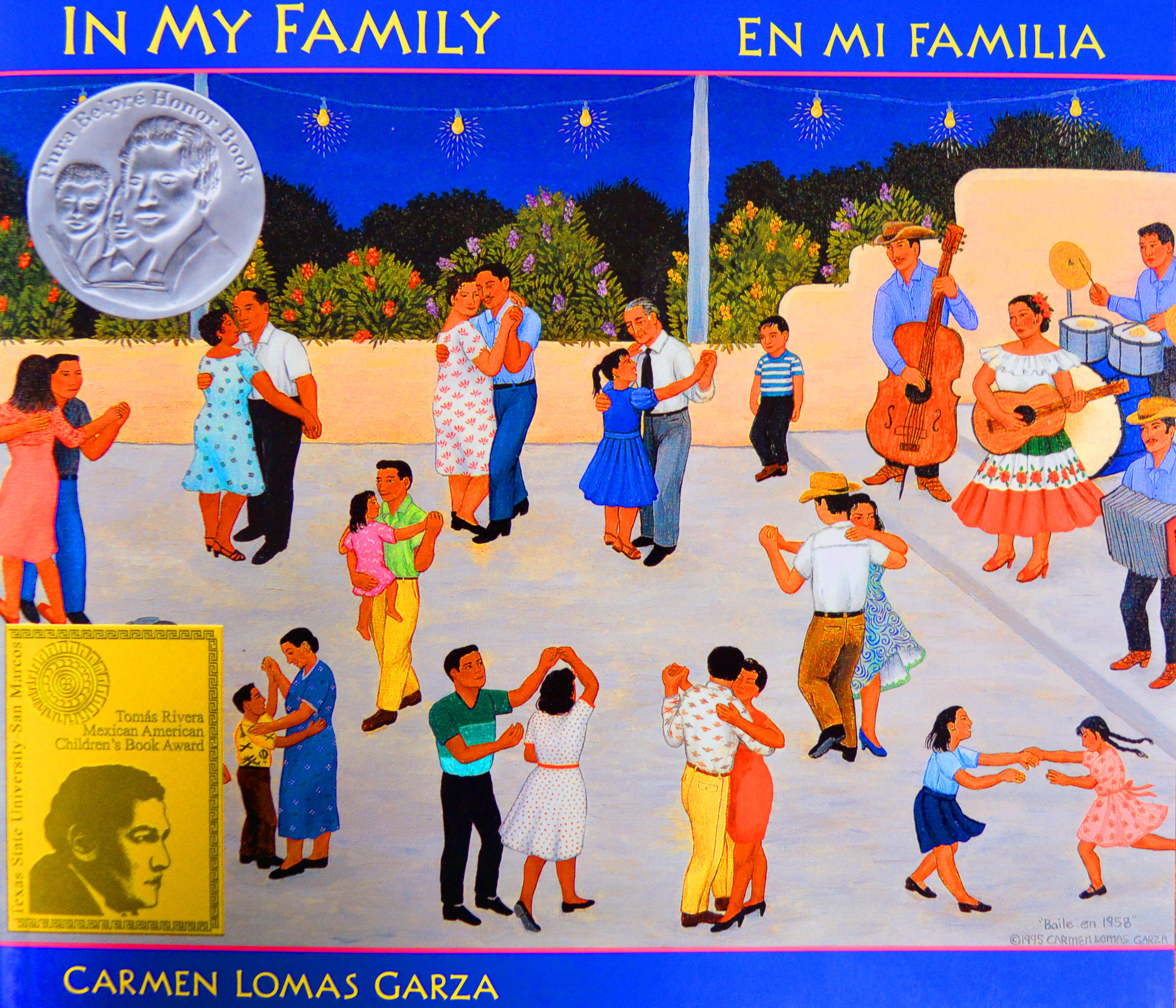 Mira, Look!: In My Family/En mi familia by Carmen Lomas Garza ...