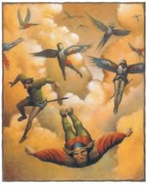 Encounter Men as Birds