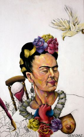 Homage to Frida by Gemdiaz