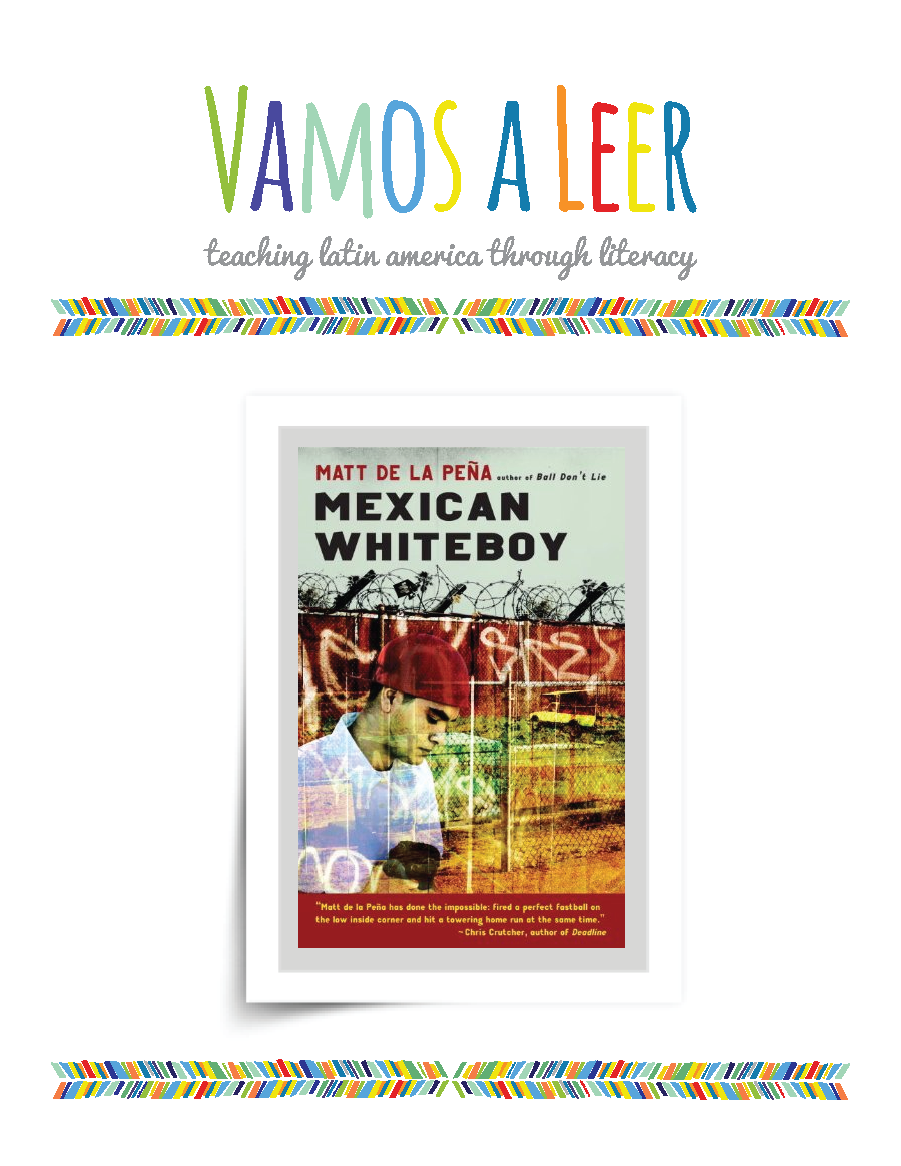 Educator's Guide: Mexican Whiteboy | Vamos a Leer