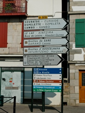 Street Signs in Pais Vasco