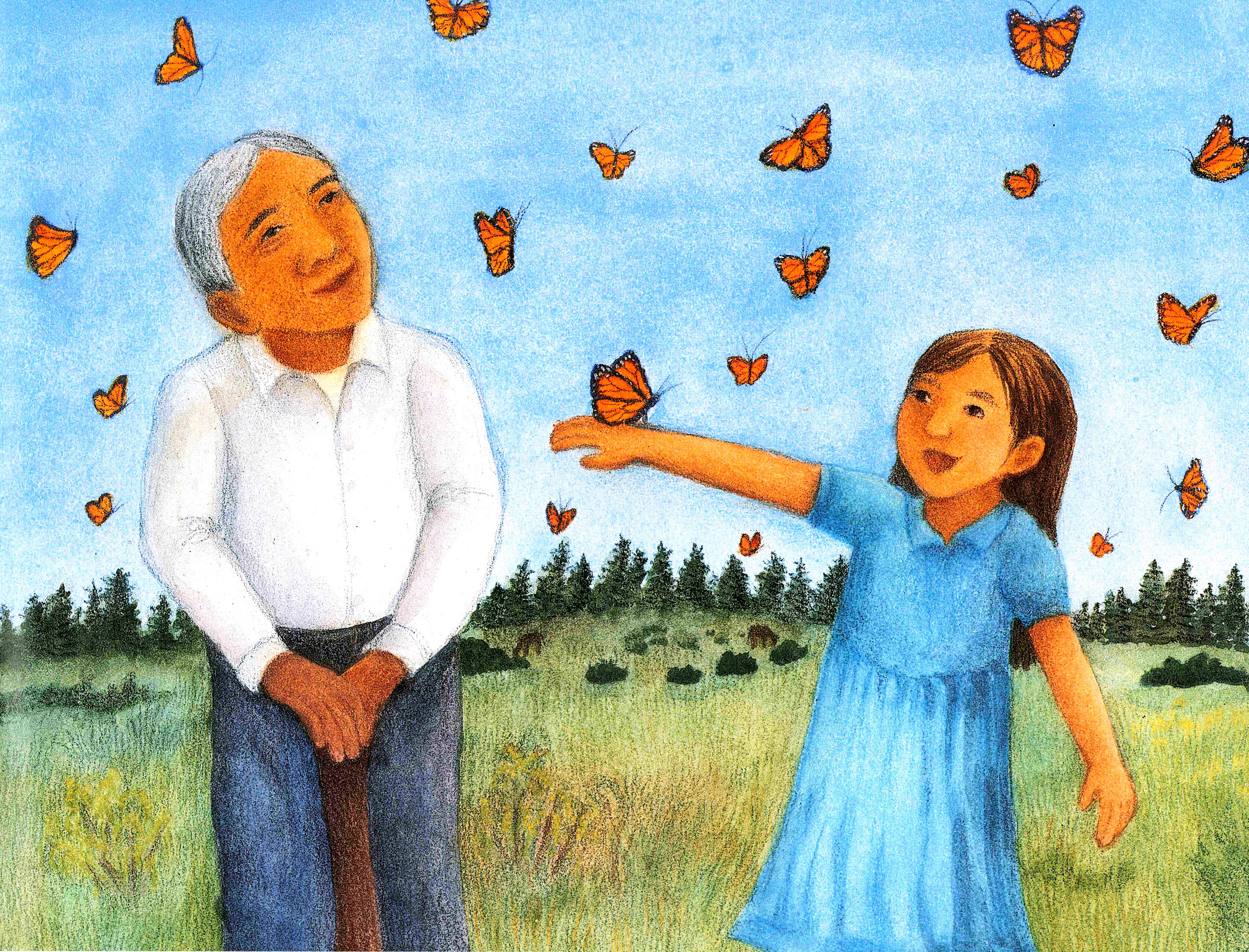 Mira look uncle monarch and the day of the dead vamos a leer childrens book review uncle monarch and the day of the dead by judy goldman biocorpaavc Gallery