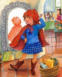 Children's Book Review: Little Roja Riding Hood by Susan Middleton Elya and Susan Guevara | Vamos a Leer