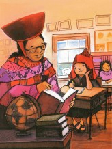 Children's Book Review: Maria Had a Little Llama by Angela Dominguez | Vamos a Leer