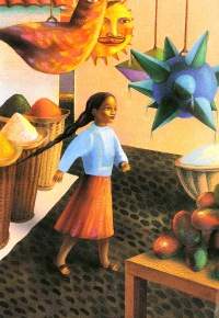 Children's Book Review: The Miracle of the First Poinsettia by Joanne Oppenheim   Vamos a Leer