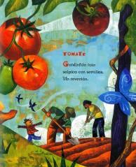 Children's Book Review: Yum! ¡Mmm! ¡Qué Rico! Brotes de las Américas by Pat Mora | Vamos a Leer