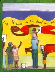 Children's Book Review: Sélavi / That is Life: A Haitian Story of Hope by Youme   Vamos a Leer