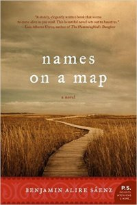 Book Review | Names on a Map by Benjamin Alire Saenz | Vamos a Leer