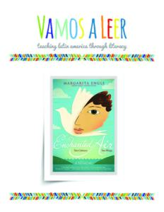 Vamos a Leer | Educator's Guide | Enchanted Air by Margarita Engle